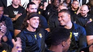 Jason Jordan and Chad Gable react to being drafted to SmackDown Live: July 19, 2016