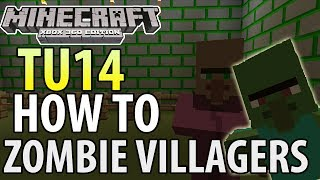 Minecraft Xbox 360ps3 Tu14 Update How To Cure Zombie Villagers Tutori