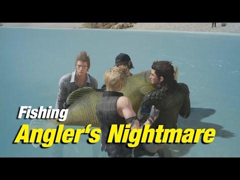 Final Fantasy XV | Fishing: Angler's Nightmare | Devil of the Cygillan at Galdin Quay