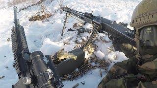 MG3 Machine Gun & HK416 Assault Rifle Live Fire