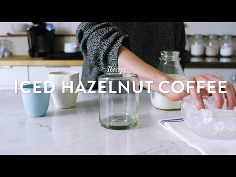 Recipe: K-cup Iced Hazelnut Coffee