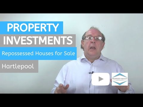 Property Investments in Hartlepool – Repossessed Houses for Sale Hartlepool