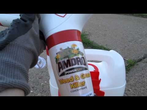 AMDRO Powerflex Pest & Weed System How To
