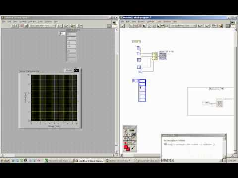 Plotting XY Graphs and Linear Regression in LabVIEW