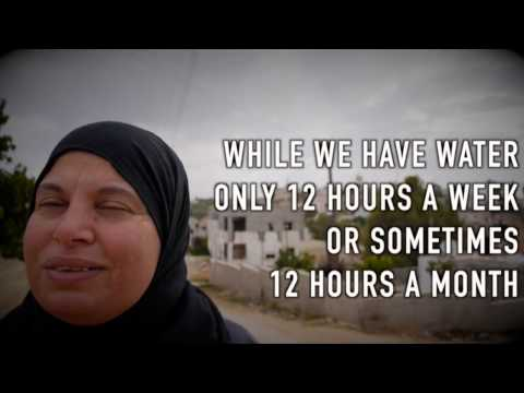 Short Intro to Palestine/Israel and Water inequality in the West Bank