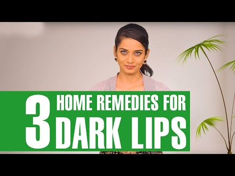 How To GET RID OF DARK LIPS & HAVE PINK LIPS Naturally At Home