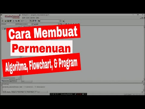 #YT015 - [INDONESIA] How to Build Menu Program Using If in C++