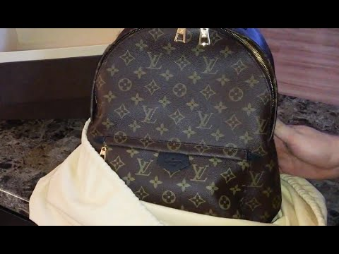 Louis Vuitton Unboxing - Palm Springs Backpack MM
