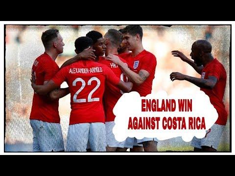 LIVE REVIEW | ENGLAND 2-0 COSTA RICA