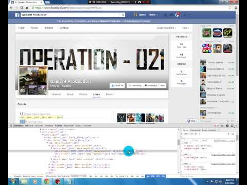 How to hack Facebook page likes