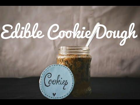 Edible Cookie Dough   Easy (Healthy, Vegan, Gluten Free)   Bakesalotlady   heyitsmerakii