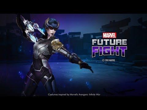 Marvel Future Fight Part 91 - Proxima Midnight Avengers Infinity War Uniform Unveiled