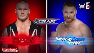 MY Prediction For WWE Draft Julio 2017 Part 2 | By Willy Editions Live 2017