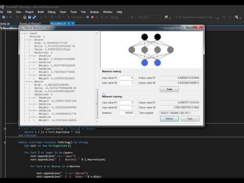 Neural Network Example in VB.NET