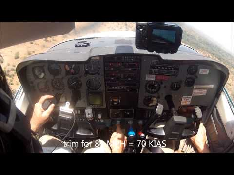 Bush Flying in a Cessna 210 - South Africa