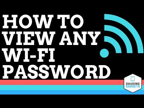 How to Find and View Any WiFi Password - Very Easy Tutorial