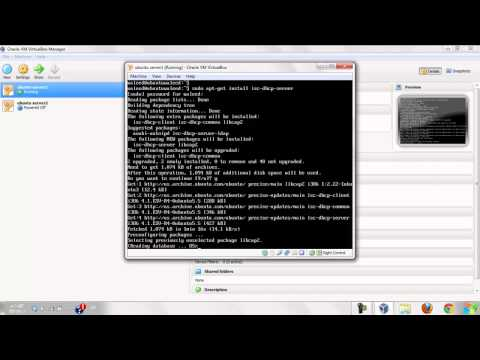 How to install and configer DHCP in ubuntu server 12.04