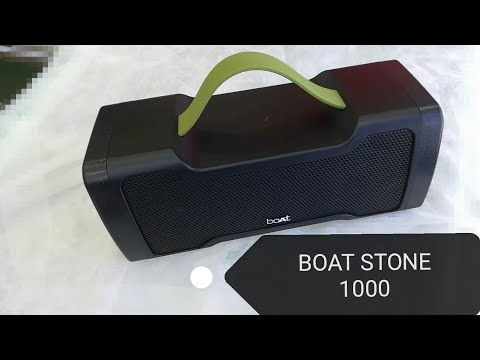 Stone 1000 Bluetooth Speaker with Monstrous SoundThe)best rugged Speaker 🔊