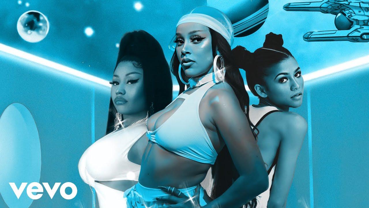 Doja Cat - Like That (feat. Nicki Minaj & Zendaya) [MASHUP]