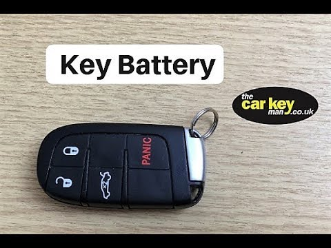 Dodge Jeep Chrysler Proximity Key Battery Change HOW TO