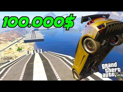 100.000 $ PER HOUR! 8th PREMIUM RACE! w/Music 👍GTA 5 ONLINE CUNNING STUNTS ALPHYX