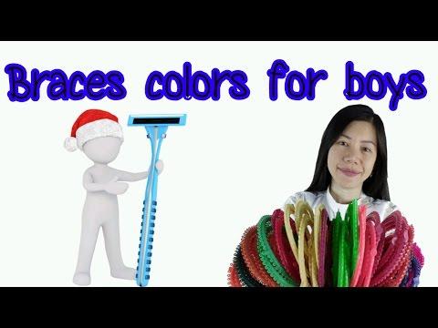 Braces colors for boys