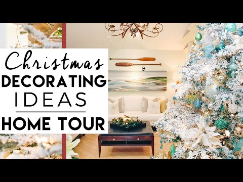 Christmas Decorating Ideas Home Tour | Winter Wonderland