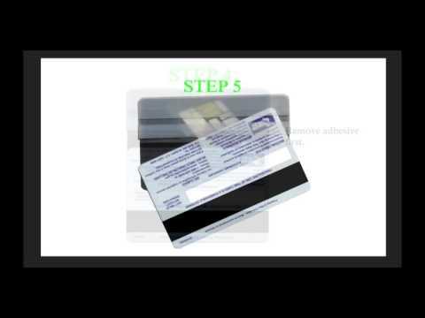 EBT card Veneer instructional video