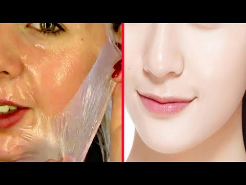 How To Get Rid of UNWANTED Facial Hair, Blackheads & Whiteheads at Home| Diy Peel of Mask
