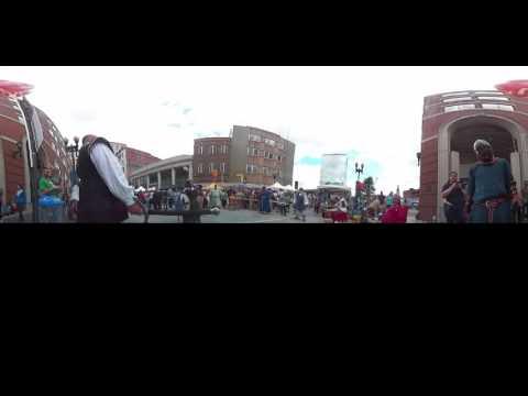 360 Video | Combat demonstration on Gay Street