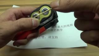 一根牙签解决一把高级锁很贵的锁,只要是锁就有弱点