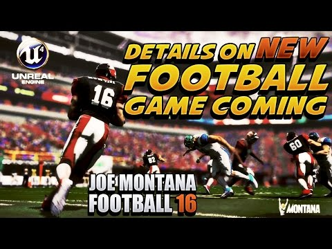 Joe Montana Football 16 NEW FOOTBALL GAME REVEALED Details | MOBILE GAME