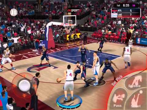 Alley Oop for 2k15 Mobile IPad version.