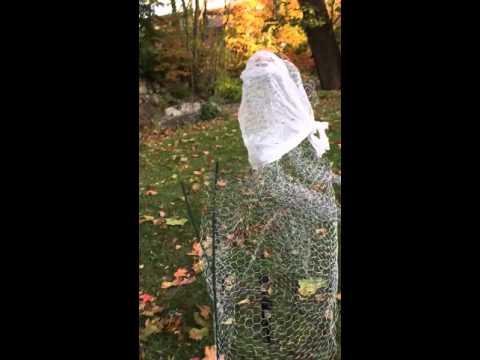 Chicken wire ghost 10/13/15