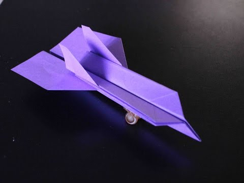 How to Make a Cool Origami Paper Plane
