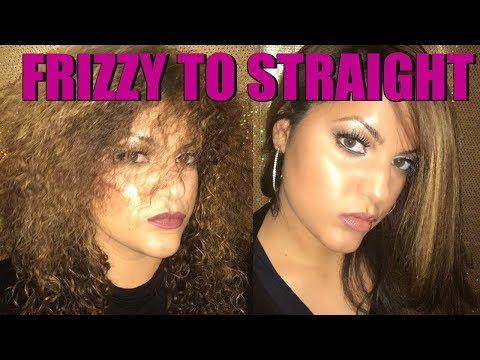 How To Blow Dry Curly Frizzy Hair 2017 for Beginners