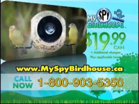 My Spy Birdhouse Infomercial | 1-800-903-5350