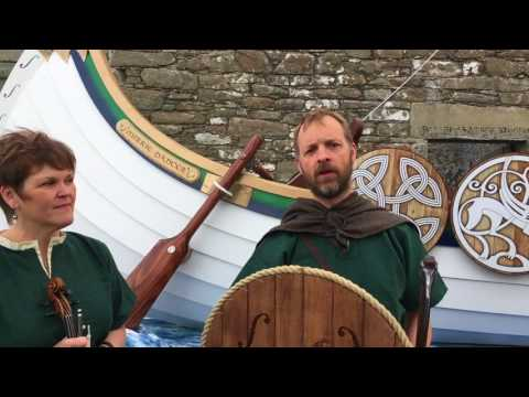 WATCH: Find out the story behind Hjaltibonhoga's Viking longship