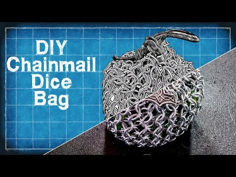 DIY Chainmail Dice Bag - Beginners Chainmail Tutorial - DIY with Cly Ep. 8