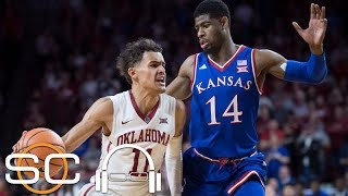 Trae Young plays one of his best games yet as Oklahoma beats Kansas   SC with SVP   ESPN