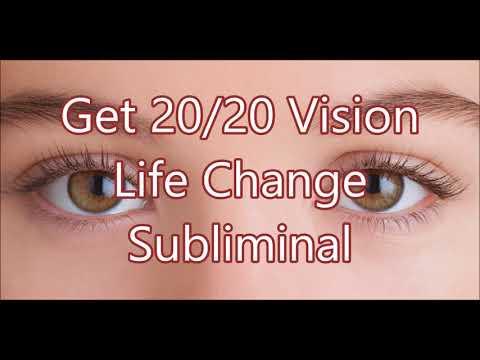 Get 20/20 Visuon - Life Change Subliminal