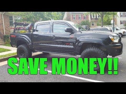 Transfer Case Oil Change on a 2nd Gen Toyota Tacoma AVOID THE STEALERSHIP