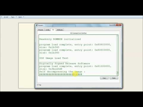 How to bypass Password of Cisco Router