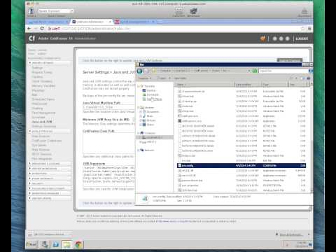 Howto Update JVM / Java Version on ColdFusion