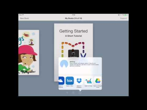 How to share your Book Creator ebook using Dropbox