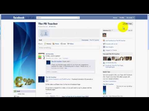 Where To Put FBML Code In A Facebook Page