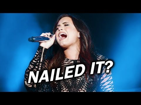 10 times Demi Lovato hit the HIGH NOTE in Old Ways!