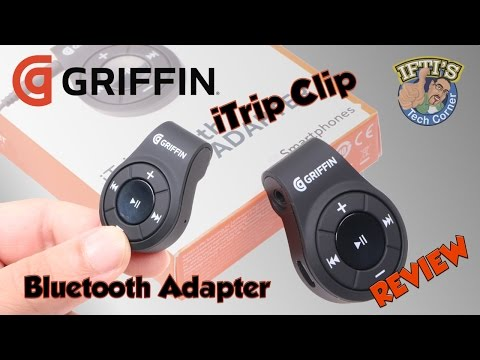 Griffin iTrip Clip - Bluetooth Adapter for 3.5mm Headphones! : REVIEW