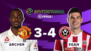 Sheffield United 4-3 Manchester United | ePremier League Invitational Highlights | Late drama!