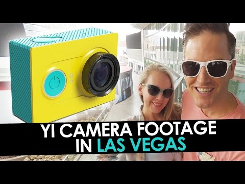 YI Camera Footage in Las Vegas —  Best Cheap Action Camera?